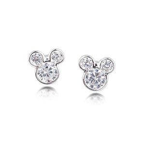 Disney by Couture Kingdom Mickey Mouse Head Stud Earrings