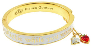 Disney by Couture Kingdom Snow White Seven Dwarfs Whistle While You Work Bangle Bracelet