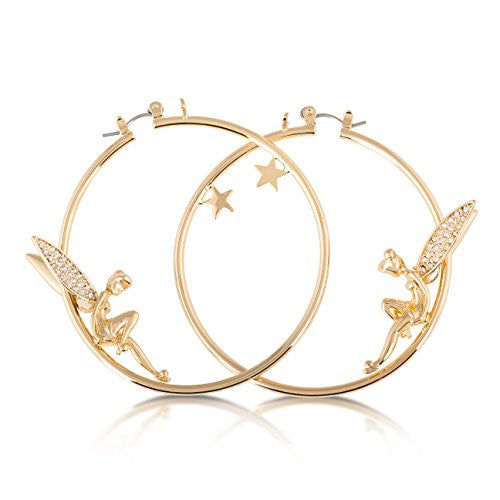 Disney by Couture Kingdom Tinker Bell Hoop Earrings