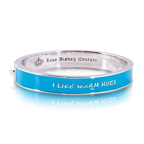 Disney by Couture Kingdom Frozen Olaf I Like Warm Hugs Bangle Bracelet