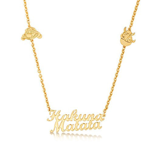 Disney by Couture Kingdom The Lion King Hakuna Matata Necklace