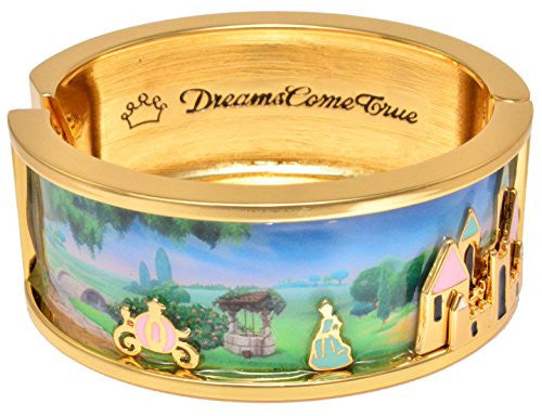 Disney by Couture Kingdom Icon Cinderella Dreams Come True Bangle Bracelet