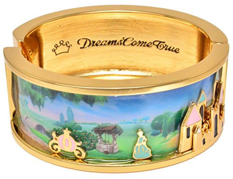 Disney Couture Icon Cinderella Dreams Come True Bangle Bracelet