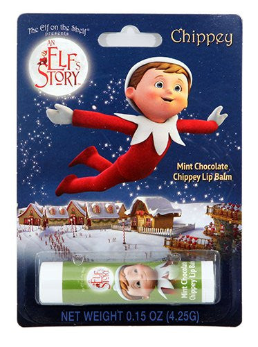 Elf on the Shelf Mint Chocolate Chippey Lip Balm