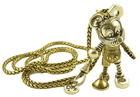 Disney Couture Dr. X Romanelli Mickey Mouse Junk Yard Necklace