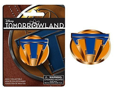 Disney Tomorrowland Movie 1984 Prop Replica Collectible Pin 1 5757