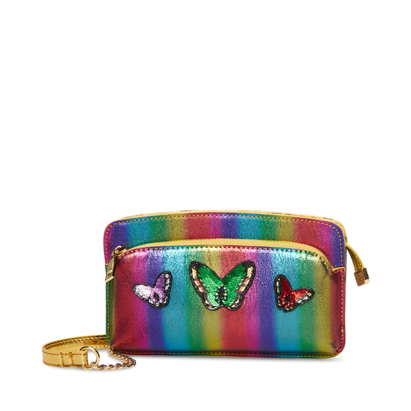 Butterfly Rainbow Bright Crossbody