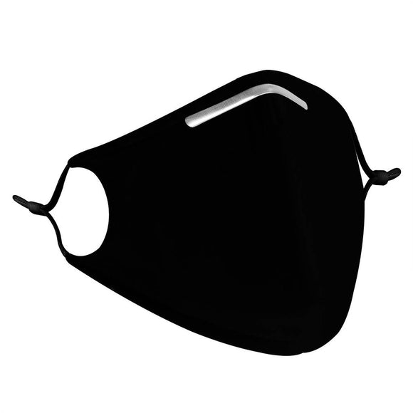 Onyx Black - Reusable Face Mask