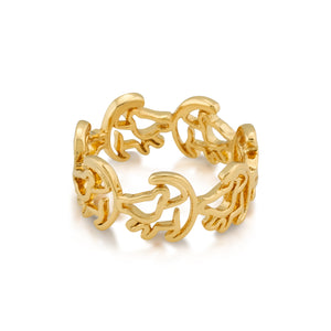 Disney by Couture Kingdom The Lion King Simba Outline Ring