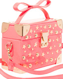 Betsey Johnson Kitsch Don't Box Me In Coral Crossbody Bag