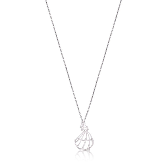 Disney by Couture Kingdom Beauty and the Beast Belle Outline Necklace