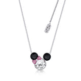 Disney by Couture Kingdom Minnie Mouse Statement Crystal Necklace