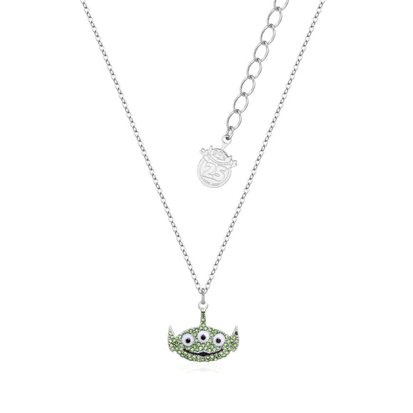 Disney Pixar by Couture Kingdom Toy Story Alien Crystal Necklace