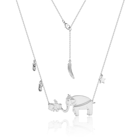 Disney by Couture Kingdom Dumbo and Mrs Jumbo Necklace