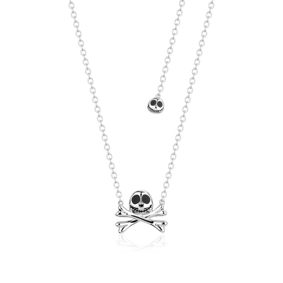 Disney by Couture Kingdom Tim Burton's The Nightmare Before Christmas Jack Skellington Necklace