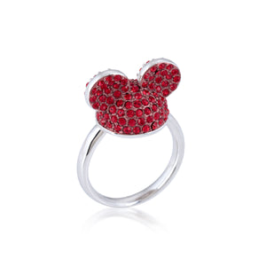 Disney by Couture Kingdom Mickey Mouse Red Ear Hat Ring