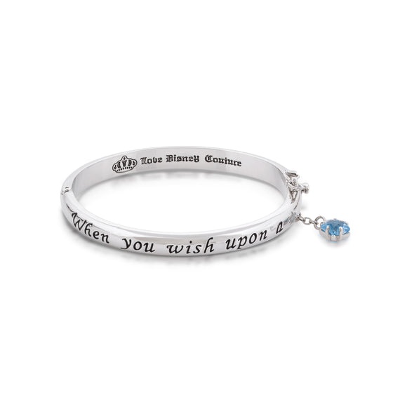 Disney by Couture Kingdom Pinocchio When You Wish Upon A Star Bangle Bracelet