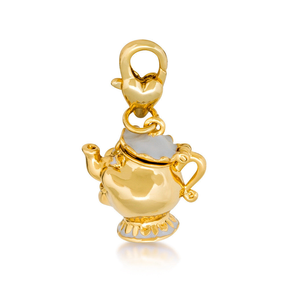 Disney Couture Beauty and the Beast Mrs. Potts Charm