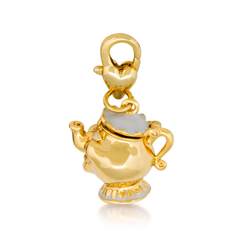 Disney by Couture Kingdom Beauty and the Beast Mrs. Potts Charm