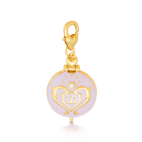Disney Couture Cinderella Clock Locket Charm