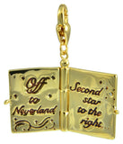 Disney Couture Tinker Bell Neverland Book Charm