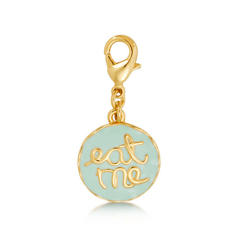 Disney Couture Alice in Wonderland Eat Me Charm