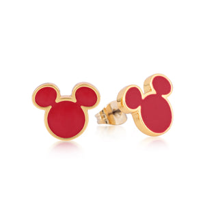 Disney by Couture Kingdom Mickey Mouse Stud Earrings