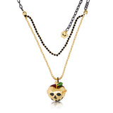 Disney Couture Snow White Apple Locket Necklace