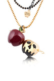 Disney by Couture Kingdom Snow White Apple Locket Necklace