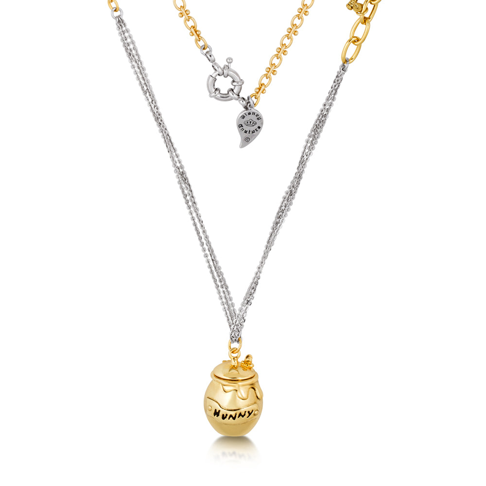 Disney Couture Winnie The Pooh Hunny Pot Necklace