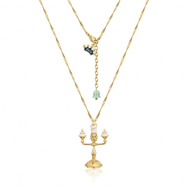 Disney Couture Beauty and the Beast Lumiere Necklace