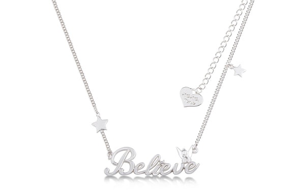 Disney by Couture Kingdom Tinker Bell Believe Necklace