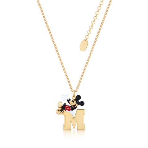 Disney by Couture Kingdom Mickey Mouse Initial Necklace