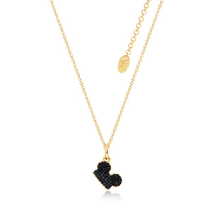Disney by Couture Kingdom Mickey Mouse Black Ear Hat Necklace