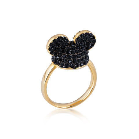 Disney by Couture Kingdom Mickey Mouse Black Ear Hat Ring