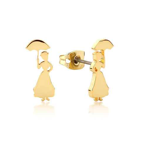 Disney by Couture Kingdom Mary Poppins Silhouette Stud Earrings