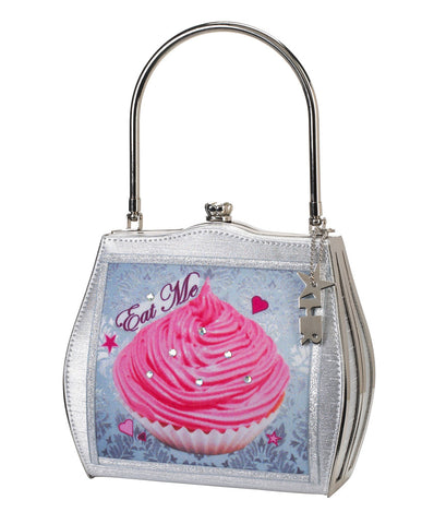 Helen Rochfort Alice in Wonderland Eat Me Drink Me Limited Edition Handbag