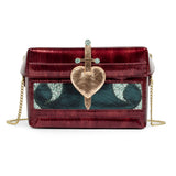 Danielle Nicole Snow White Evil Queen Box Crossbody Handbag