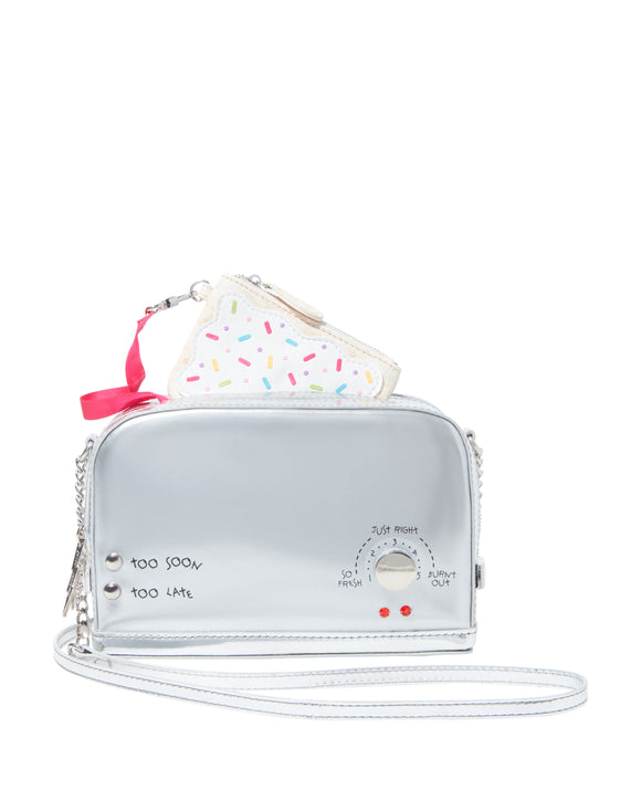Betsey Johnson Kitsch A Toast To You Crossbody Bag
