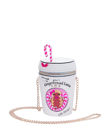 Betsey Johnson Kitsch Gingerbread Latte Crossbody Bag