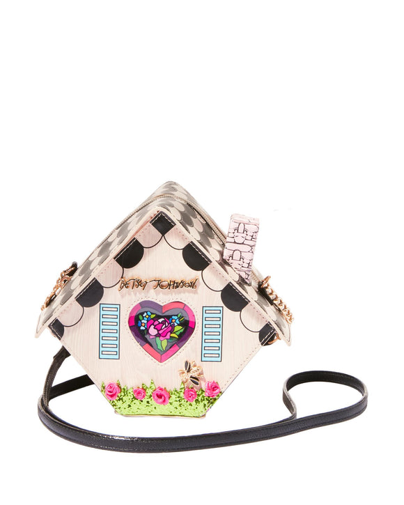 Betsey Johnson Home Tweet Home Crossbody Bag