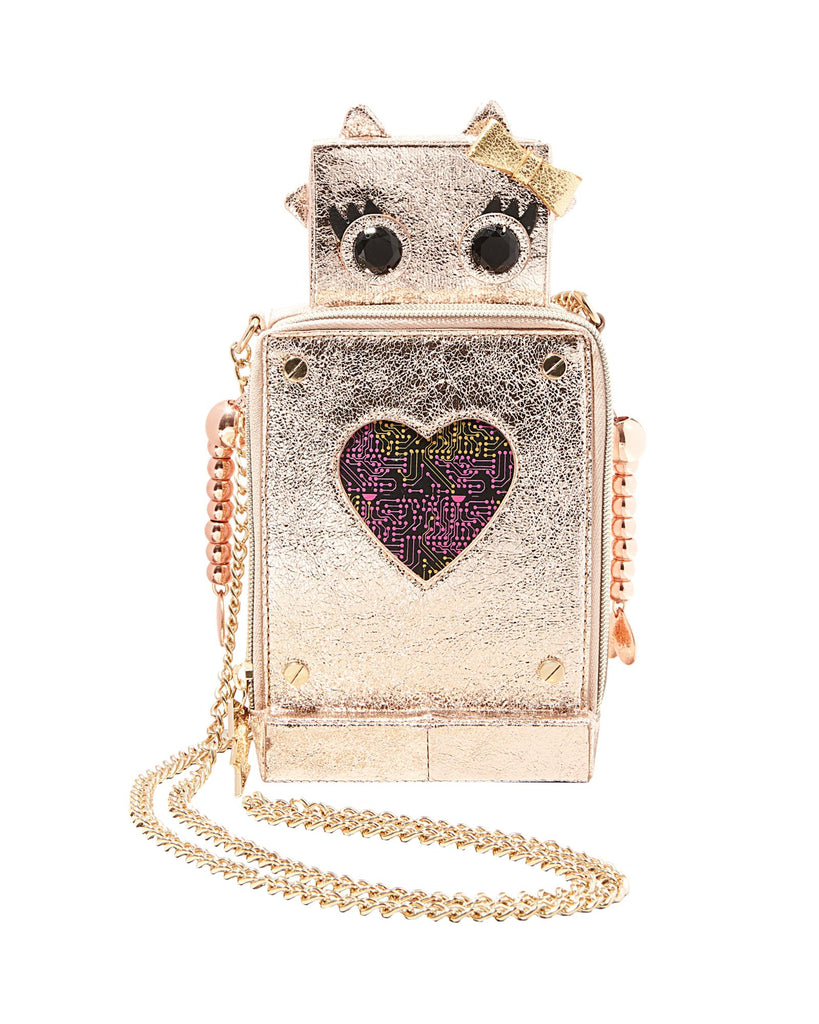 Betsey Johnson Kitsch Love Machine Crossbody Bag