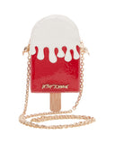 Betsey Johnson Kitsch Peppermint Pop Crossbody Bag