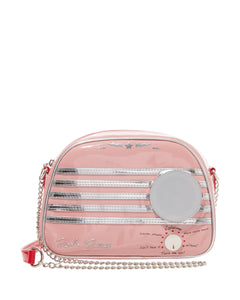 Betsey Johnson Kitsch Vintage Radio Waves Crossbody