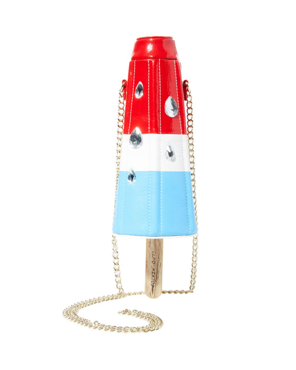 Betsey Johnson Kitsch Rocket Popsicle Crossbody Bag