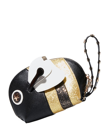 Betsey Johnson Kitsch Sting Me Wristlet Bag