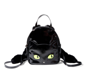 Betsey Johnson Kitsch Meow in the Dark Backpack