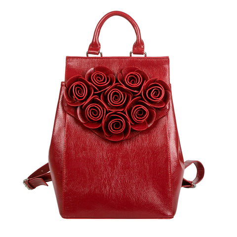 Danielle Nicole Beauty and the Beast Rose Backpack