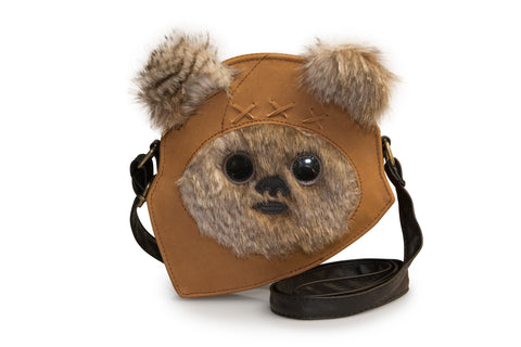 Loungefly Star Wars Ewok Face Crossbody Purse