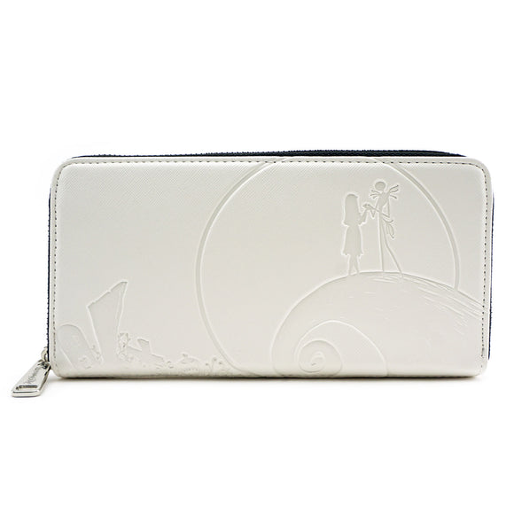 Loungefly The Nightmare Before Christmas Debossed Cream Wallet